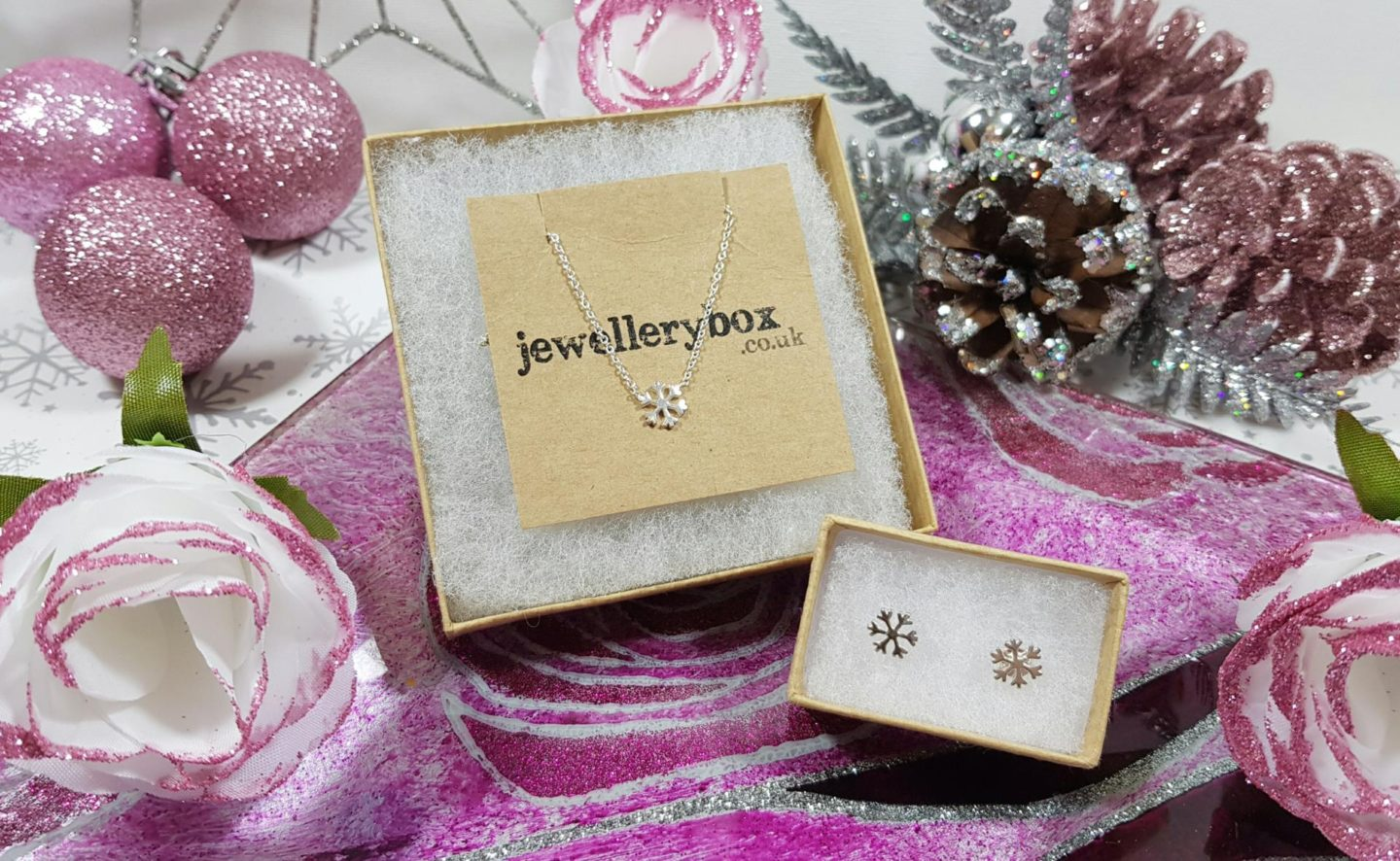silver snowflake jewellery from jewellerybox