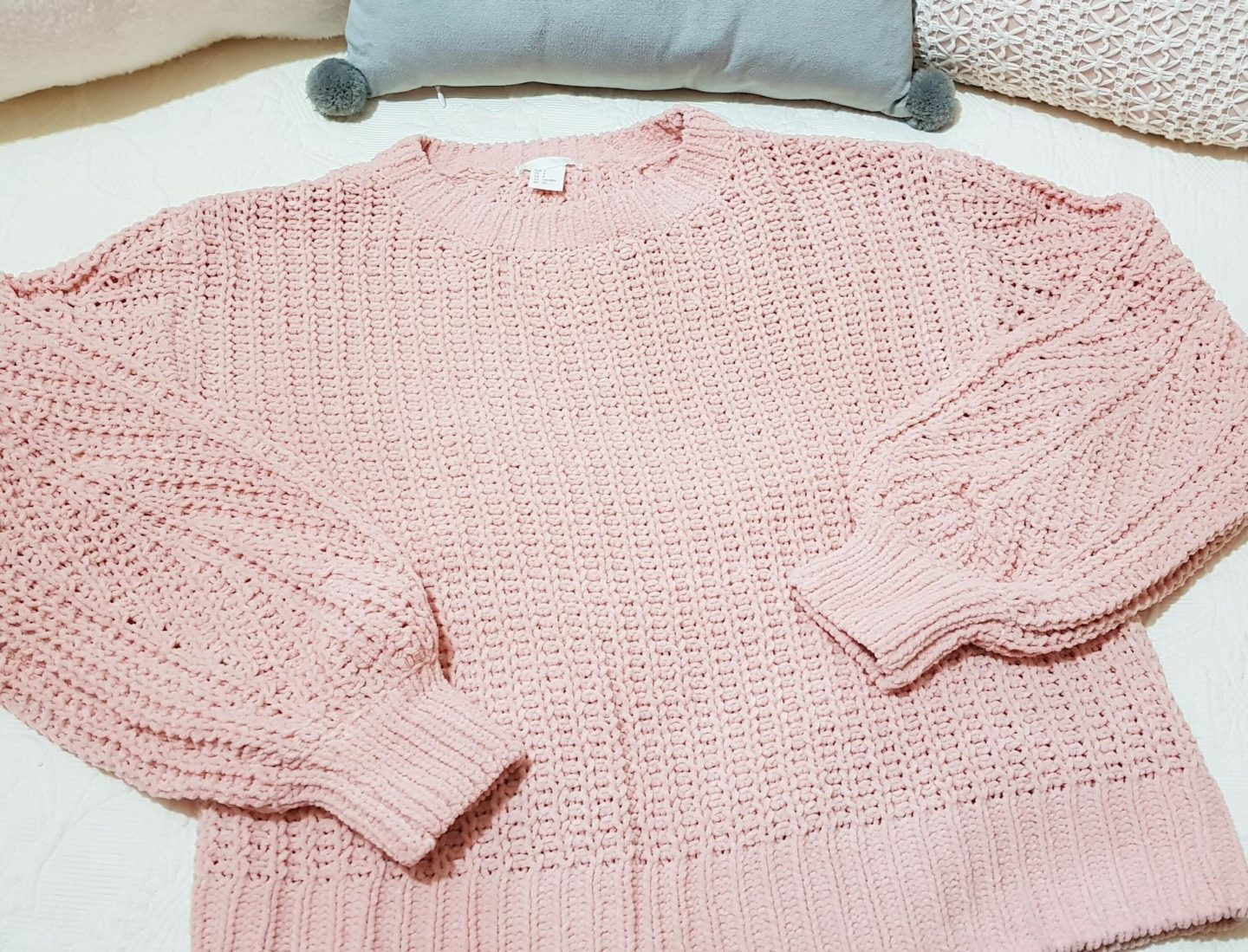 H&M loose knit jumper