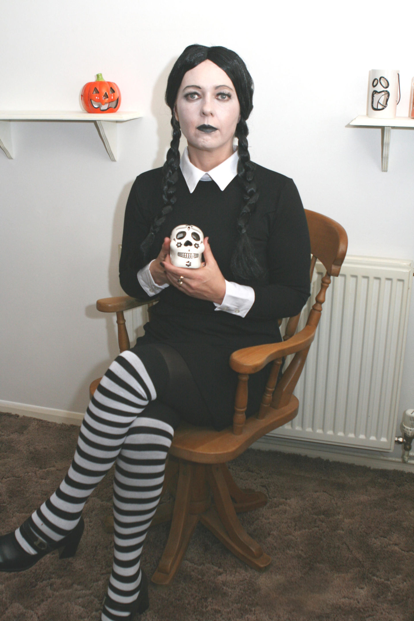 Wednesday Addams Fancy Dress Costume