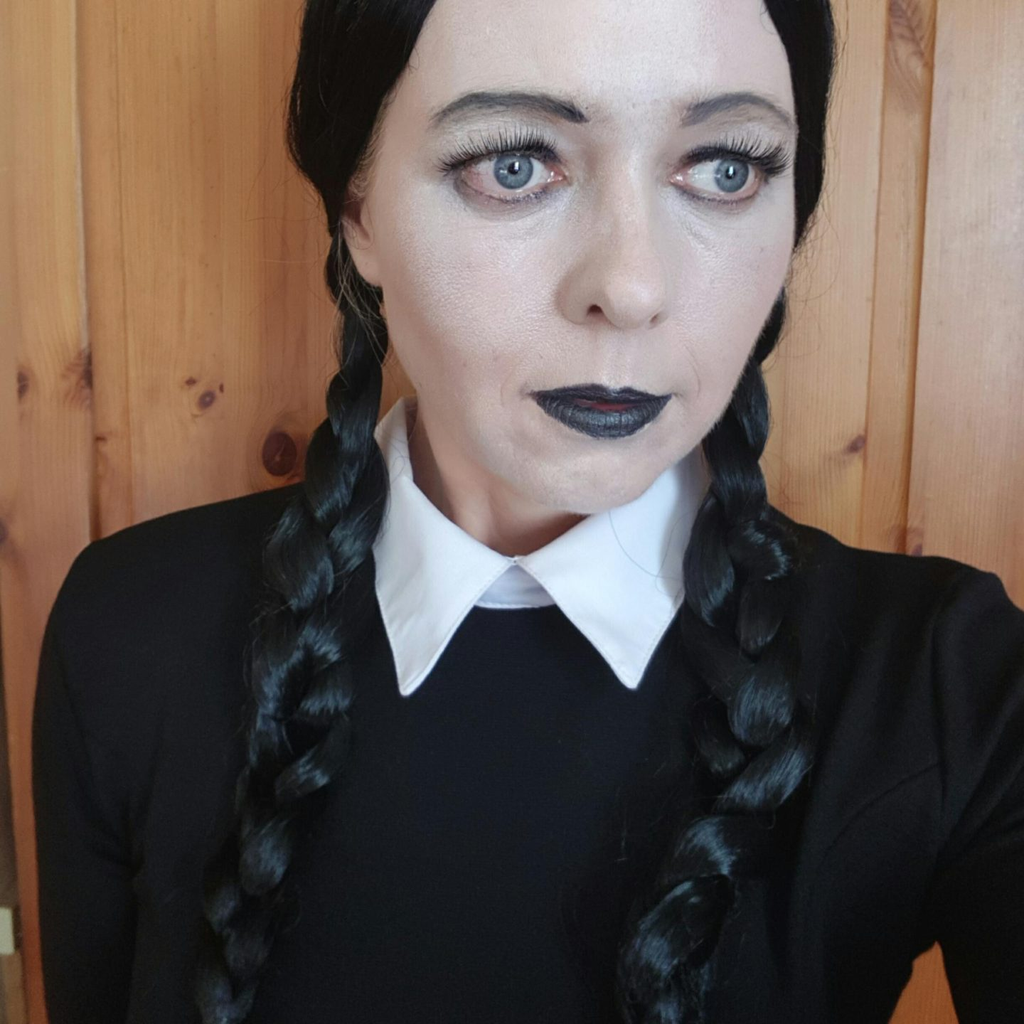 Wednesday Addams Makeup Look