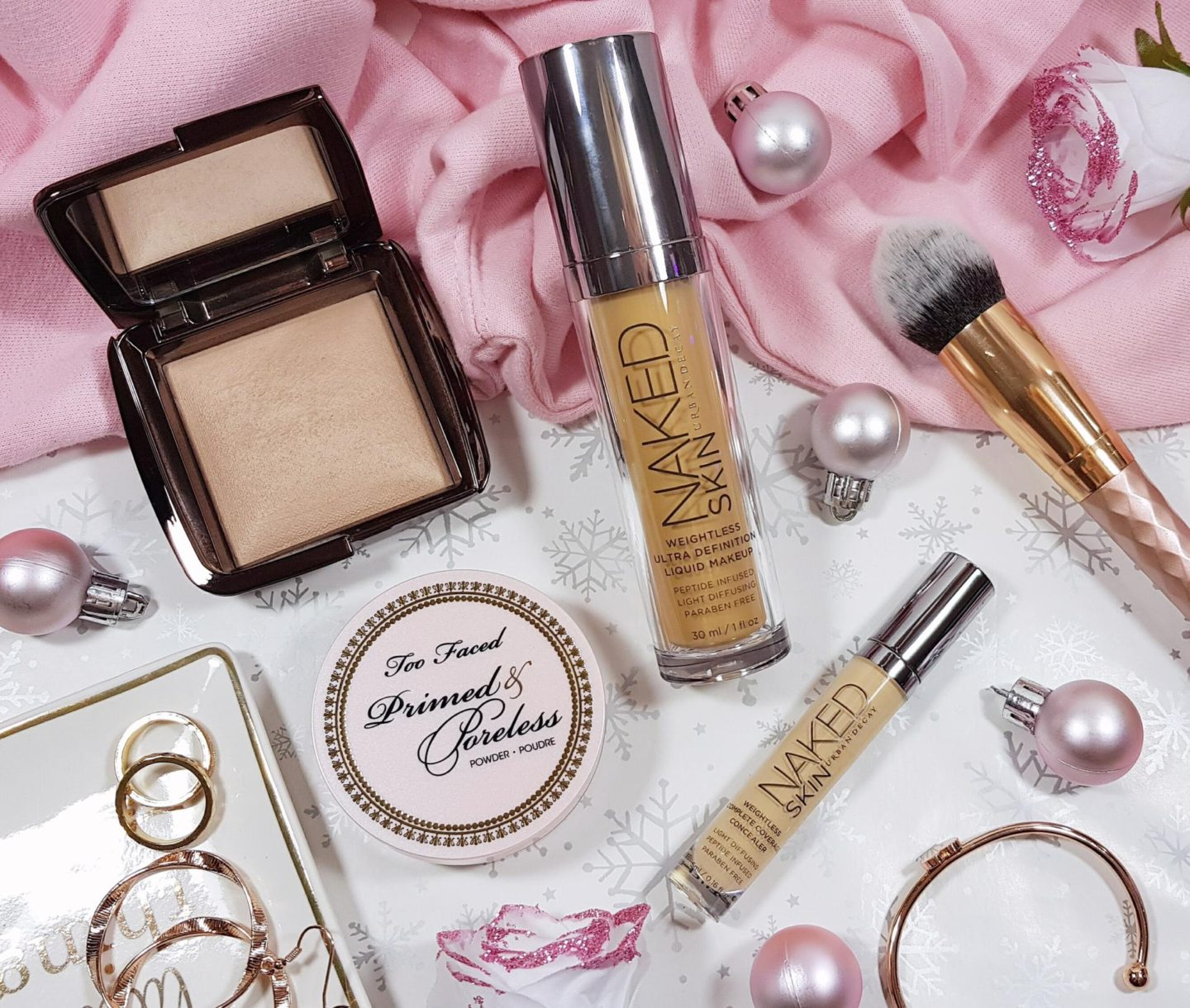 what's in my festive makeup bag