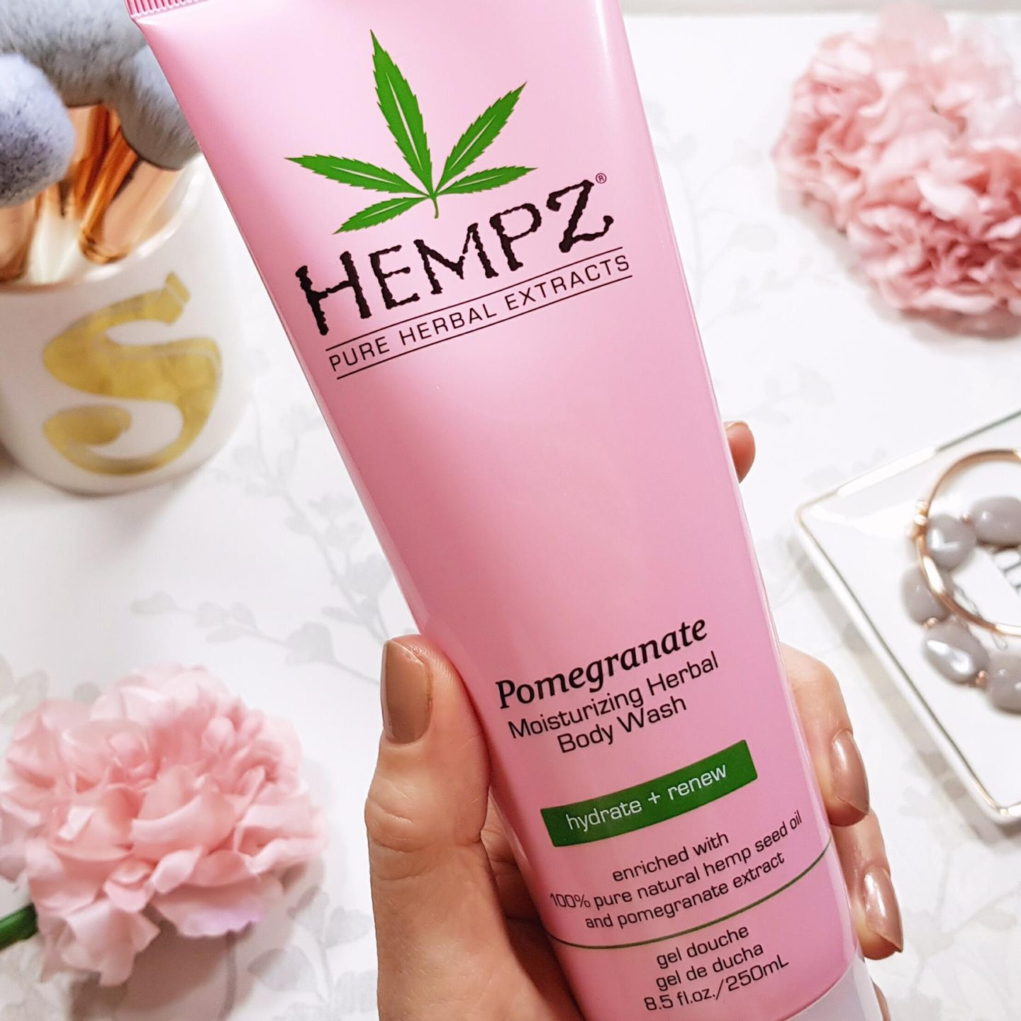 Hempz Beauty Pomegranate Body Wash