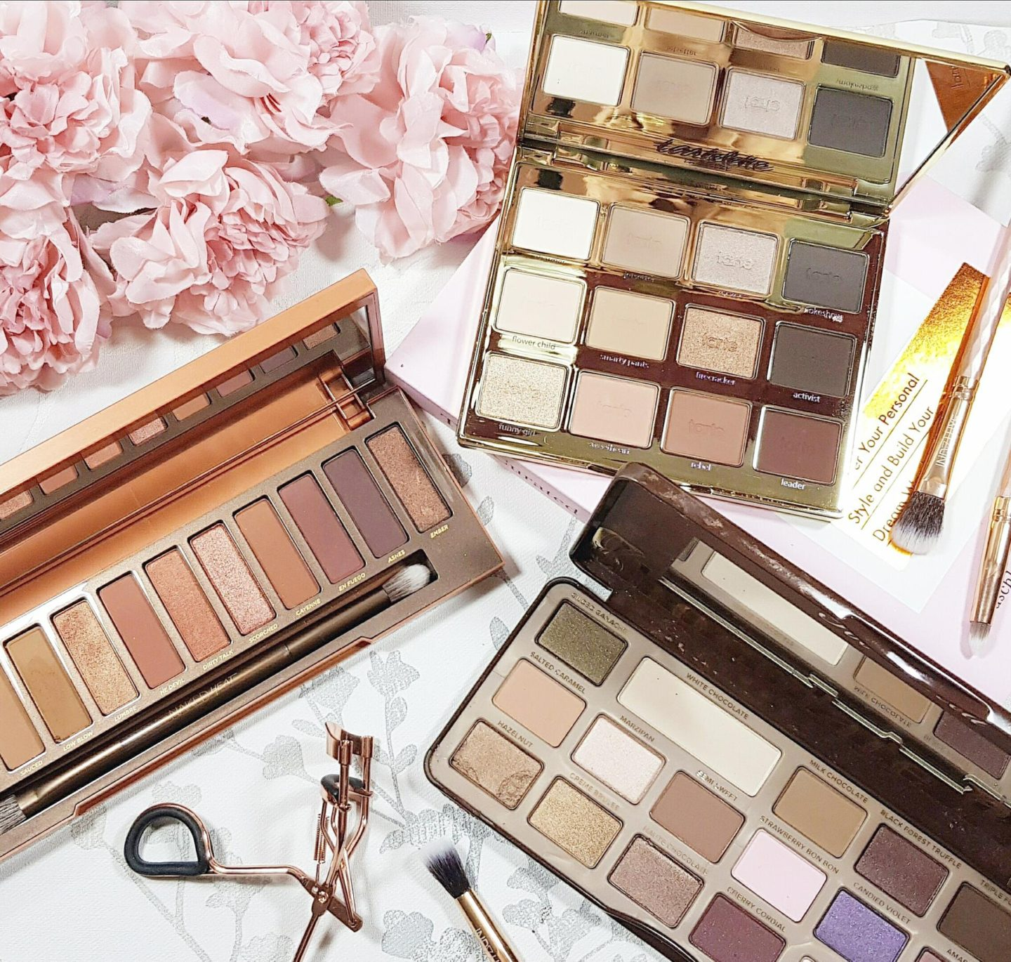 Five Favourite Eyeshadow Palettes