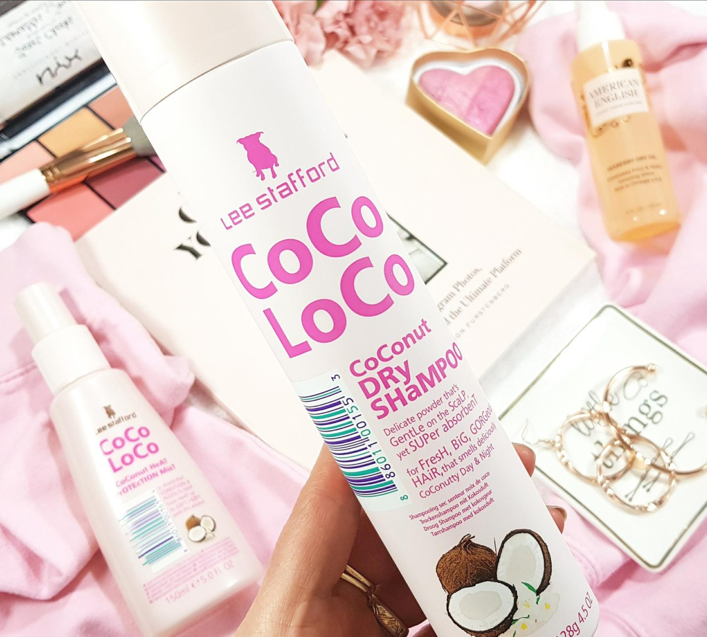 Lee Stafford Coco LoCo Dry Shampoo is one of my hair styling essentials