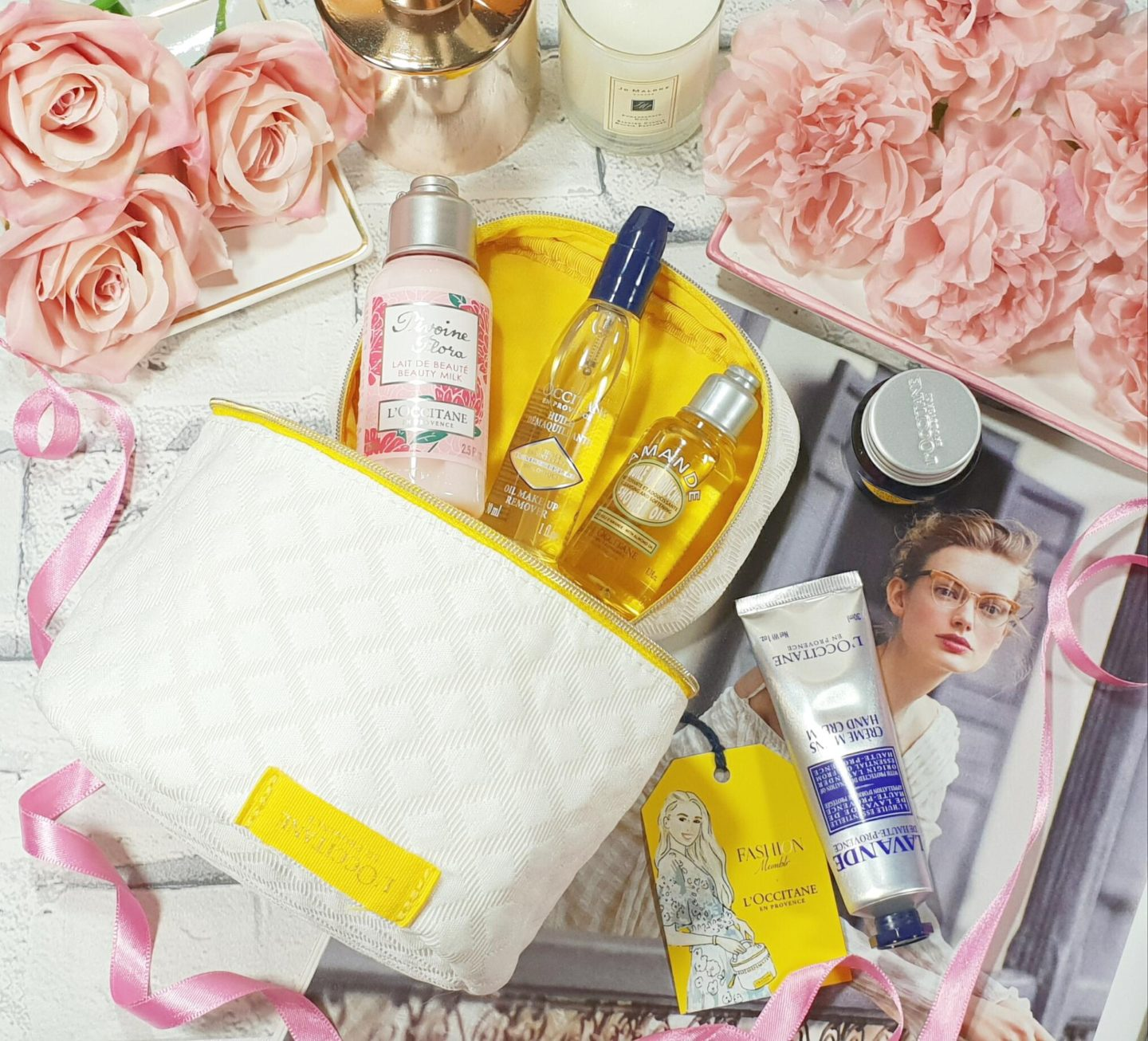 Fashion Mumblr X L'Occitane Beauty Collection