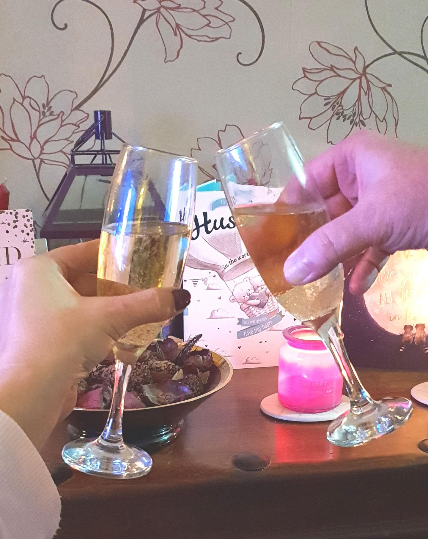 In this month's catch up I'm toasting my husband's birthday with a glass of moet