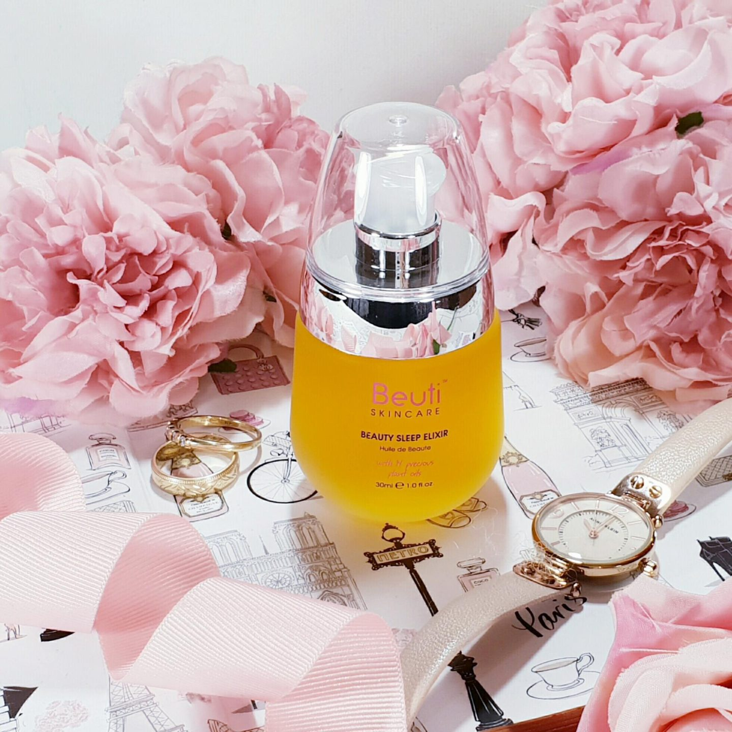 Beauty Sleep Elixir nighttime facial oil