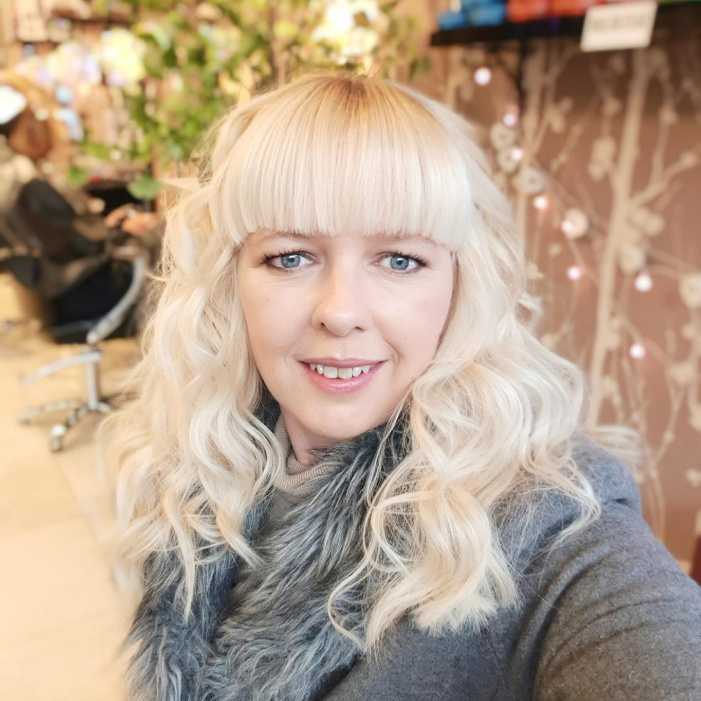 having my hair cut and coloured in my monthly catch up post